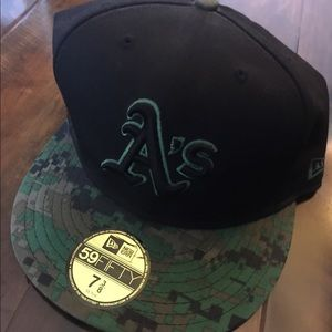 Oakland A's New Era Cap